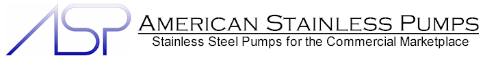 American Stainless Pumps | Stainless Steel Pumps for the Commercial Marketplace